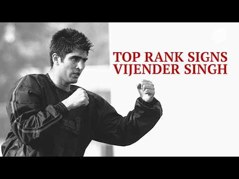 Vijender Singh Latest Fight: Indian Boxer is all set for American debut next year
