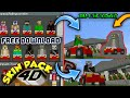 SKIN PACK 4D MOUNTED ON CAR - MINECRAFT SKINS