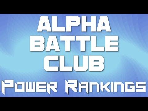 Alpha Battle Club Post-Draft Power-Rankings w/ Aeriodon