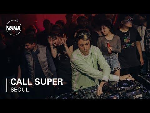Call Super Boiler Room BUDx Seoul DJ Set
