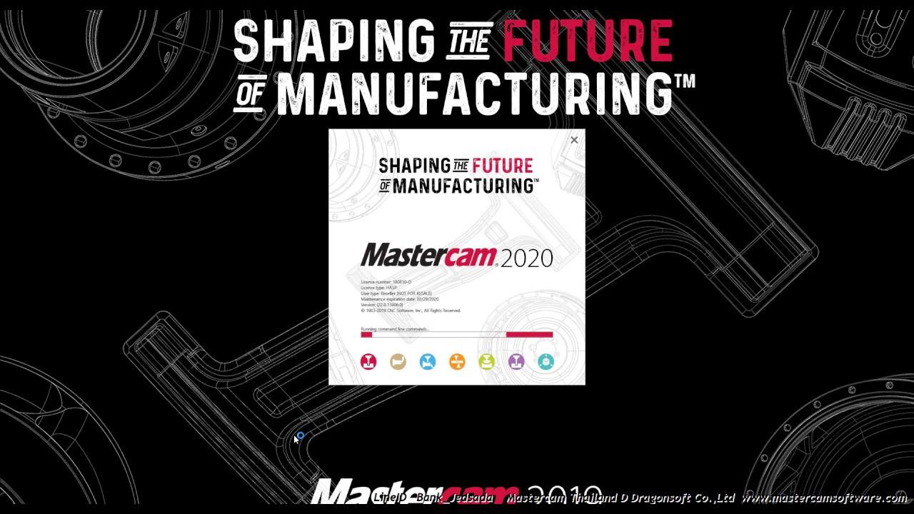 Mastercam 2020 Full Machine Simulation