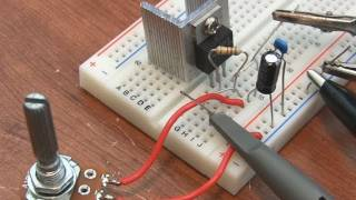 LM317 Adjustable Voltage Regulator Tutorial