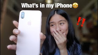 What's on my iPhone XS Max?! | nicole's life