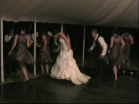 K J Surprise Wedding Dance With Bridal Party