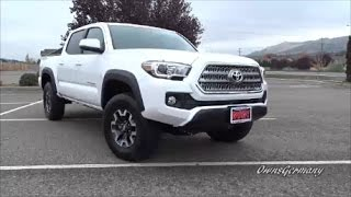 Taking Delivery of a 2017 Toyota Tacoma TRD Off Road