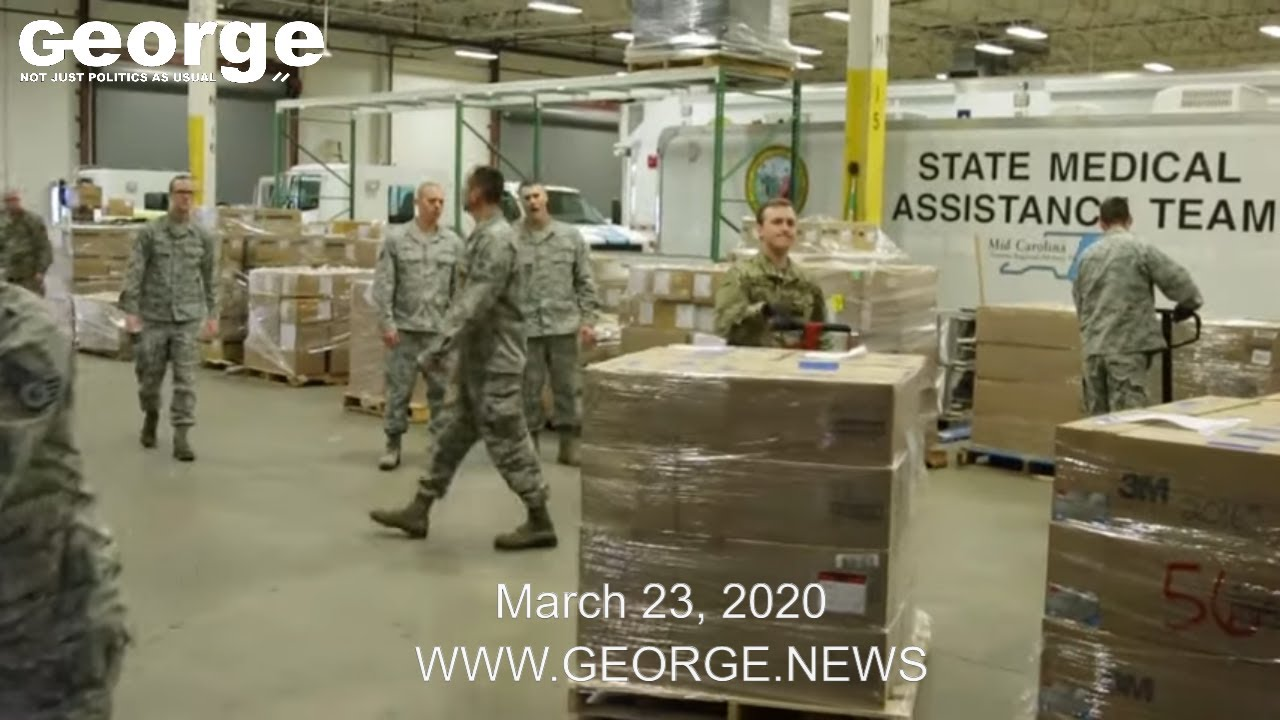 NCNG and Air National Guard Response to COVID-19, MARCH 23, 2020 B-ROLL