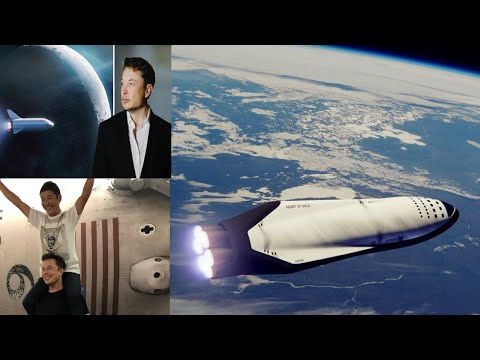 SpaceX Announces Plans To Launch Billionaire Maezawa To The Moon! BFR & Many UFOs 9/18/2018