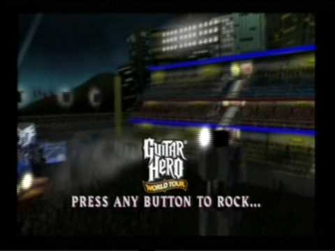 Guitar Hero World Tour - Loading Sequence and Attract Mode - Sony  PlayStation 2