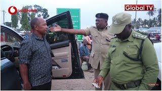 Dereva 'mzembe' wa serikali alivyoingia kwenye 18 za polisi!!