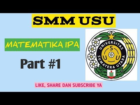 Matematika IPA 2017 Ujian Mandiri SMM USU Part 1
