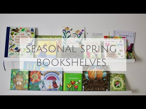 Spring Books for Toddlers- Seasonal Books for Young Children