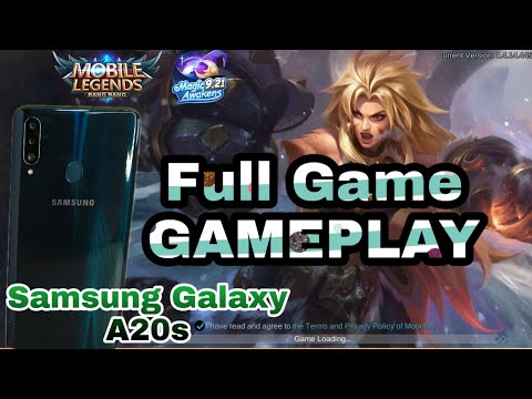 Samsung Galaxy A20s Mobile Legends Gameplay | Full Game | Tagalog |