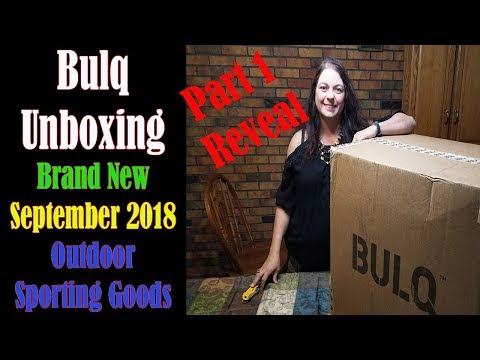 Bulq.com Unboxing BRAND NEW Part 1 Reveal Sporting Goods Swim Items Paid $193