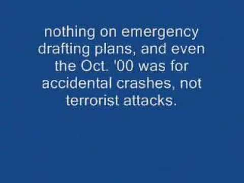 9/11 Conspiracy Theories P36: Burlingame Ran Oct '00 Drill?
