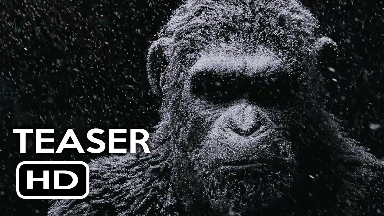 War For The Planet Of The Apes Official Teaser Trailer 1 2017 Action Movie Hd Youtube
