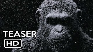 war for the planet of the apes official teaser trailer 1 2017 action movie hd
