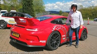 I Drove a Porsche 991 GT3 'RSR' at the Nürburgring - AND I'M STILL ALIVE!