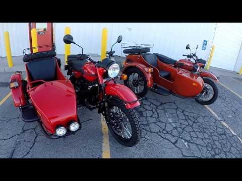 2018 Ural Sidecar Motorcycle