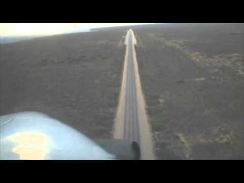 Landing on the Nullabor Hwy