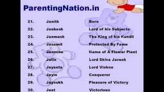 Makar Rashi Baby Boy Names With Meanings