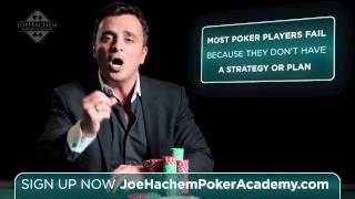 Joe Hachem Poker Academy - Become A Better Poker Player with World Champion Joe Hachem Poker Academy
