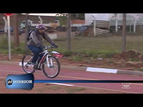 Em Presidente Prudente poucos utilizam as ciclovias