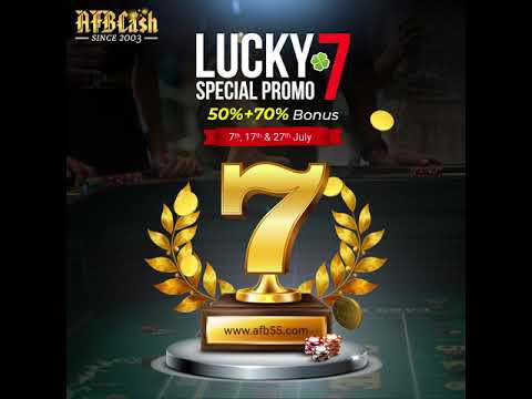 Lucky 7 Promotion | AFBCash Online Casino Malaysia