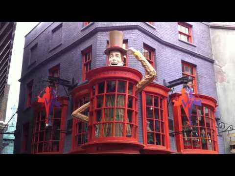 Harry Potter Diagon Alley Universal Studios Florida Weasley Wizard Wheezes Magic Shop