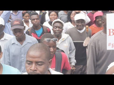 MDC Demonstration In Harare