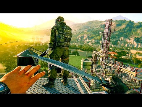 THE ZOMBIE ASSASSIN! Dying Light The Following Gameplay
