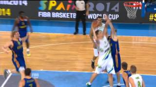 Highlights Slovenia-Ukraine EuroBasket 2013