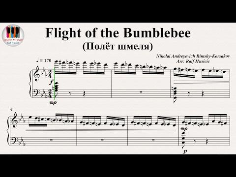 FlightoftheBumblebee (Полёт шмеля), 熊蜂の飛行, 大黃蜂的飛行 - Nikolai Andreyevich Rimsky-Korsakov
