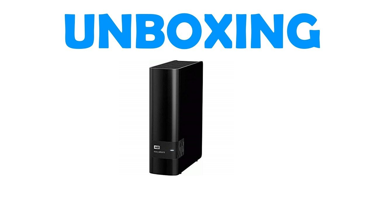 Unboxing WD Easystore 10TB External Hard Drive