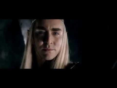BOTFA- The End Scene with Thranduil and Legolas