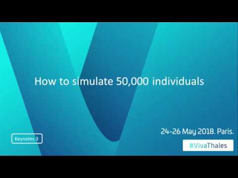 How to simulate 50,000 individuals - A pitch by Christophe Meyer