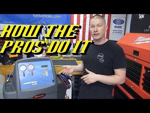 ac recovery machine harbor freight