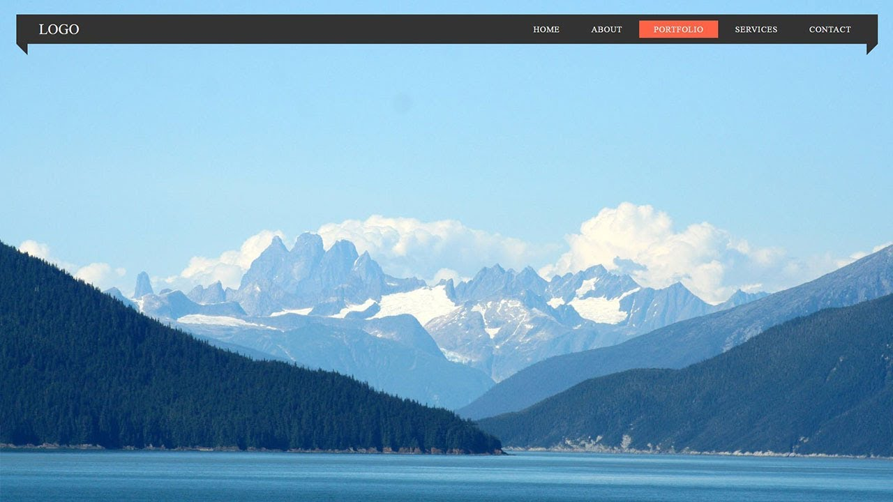 How To Create An Awesome Navigation Bar With Html Css Source Code