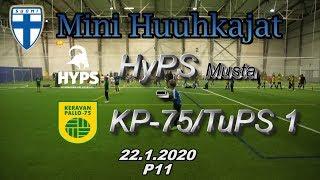 Mini Huuhkajat P11 HyPS Musta vs KP-75/TuPS 1 22.1.2020