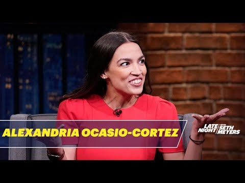 Rep. Alexandria Ocasio-Cortez Responds to Fox News\' Weird Obsession with Her