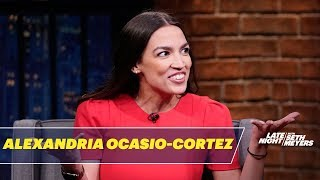 Rep. Alexandria Ocasio-Cortez Responds to Fox News' Weird Obsession with Her