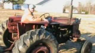 Driving the MF 175 and IH 140
