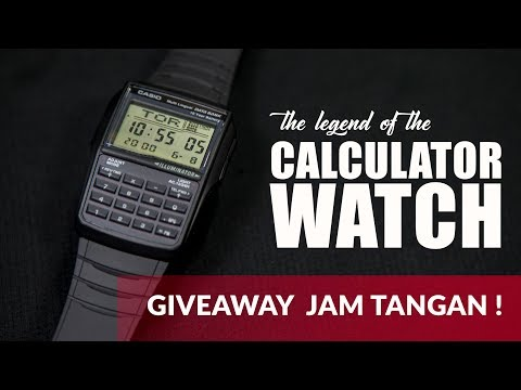 GIVEAWAY JAM KEREN !  CASIO DATA BANK DBC-32-1ADF REVIEW
