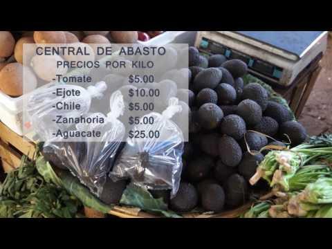 REPORTAJE CORTV: PRECIOS CENTRAL DE ABASTOS
