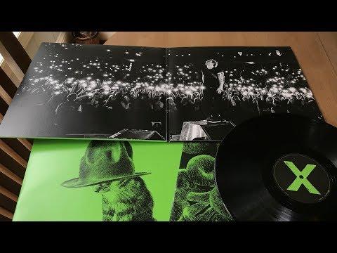 "Ed Sheeran ""X' Or ""Multiply"" - 30 Second Vinyl"
