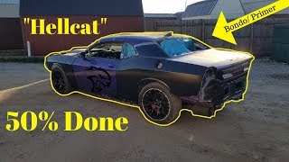 Rebuilding a Wrecked Dodge 2016 Hellcat Still a Better Deal Than Copart Part 4