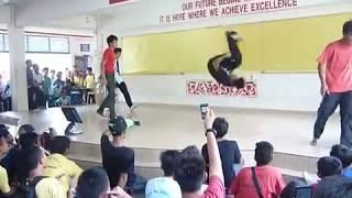 (T.Factor Parkour) SMKS4 Bandar Kinrara Dance Battle Pt2