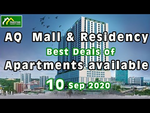 AQ  Mall & Residency Best Deals of Apartments available 10th