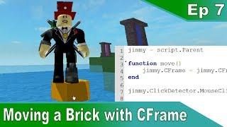 [7] Verschieben eines Bricks mit Position und CFrame - Roblox Scripting Tutorials