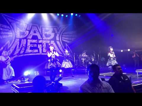 From Dusk Till Dawn (live premiere) - Babymetal @ The Palladium, 6/16/17