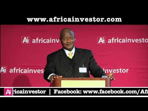 H.E. Mr Yoweri Museveni, President, Republic of Uganda, Ai CEO Institutional Investment Summit 2013